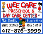 WEE CARE PRESCHOOL DAY CARE CENTER INC